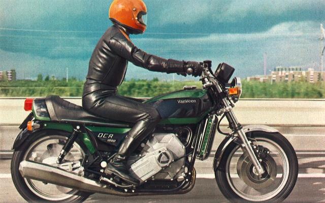 Motocicletas con motor Wankel 16110dt