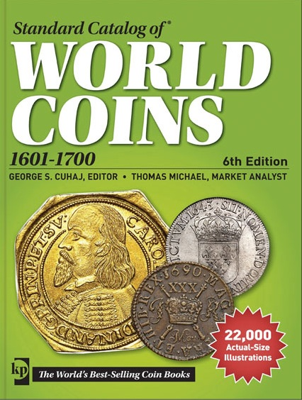 Krause Standard Catalog World Coins 18th Century 1701 - 1800 4th Edition 16avcoz