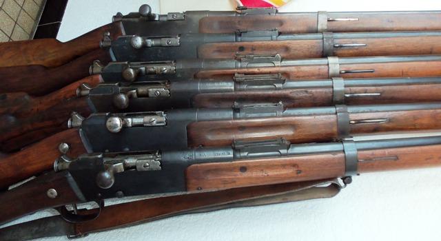 fusils réglementaires, ma petite collection  16c57jr
