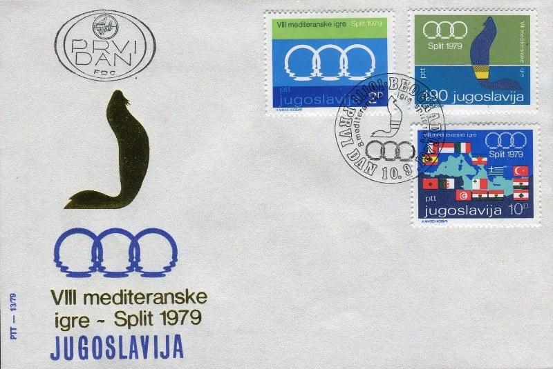 8 Mediteranske Igre Split 1979 16gg2eb