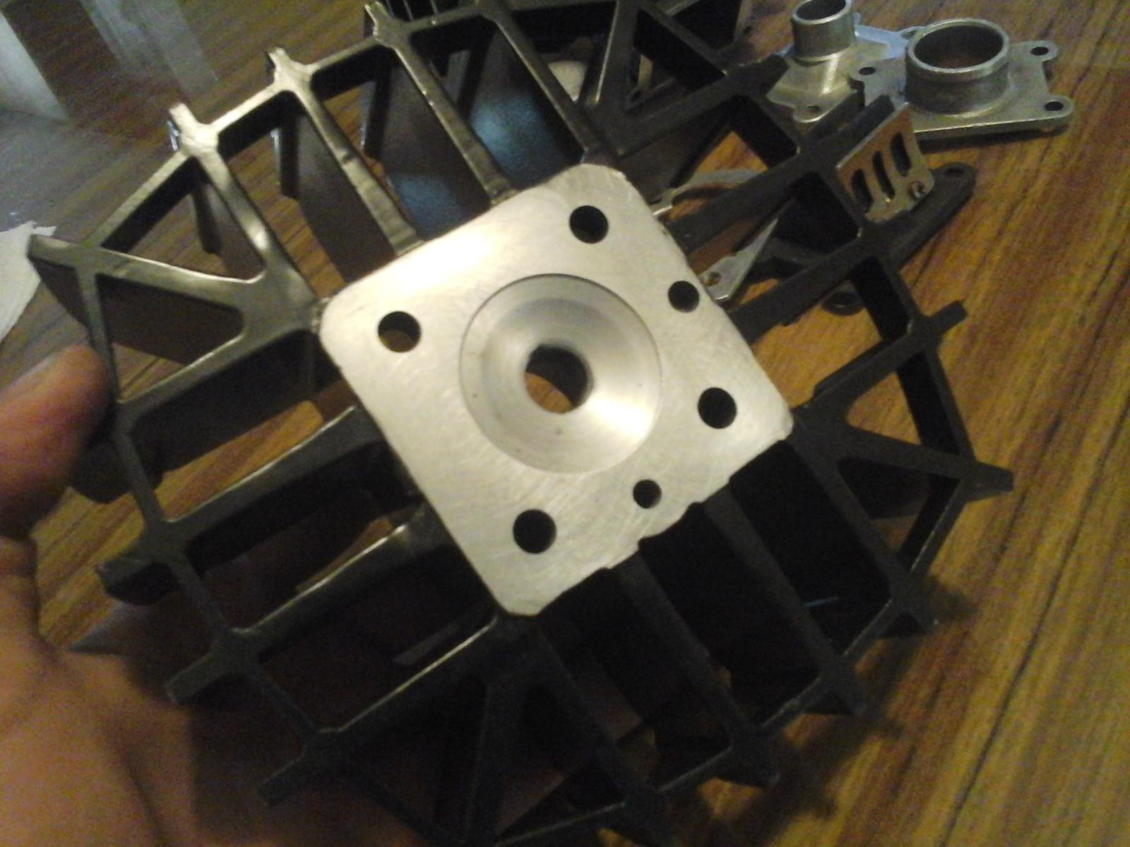 Mejorando cilindro Puch 50 4V 174q3m