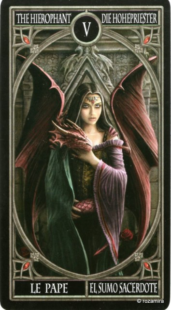 Готическое Таро Анны Стокс /Anne Stokes Gothic Tarot   (скан карт) 1zbun9w