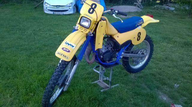 Suzuki RM80 1984 208z5t2