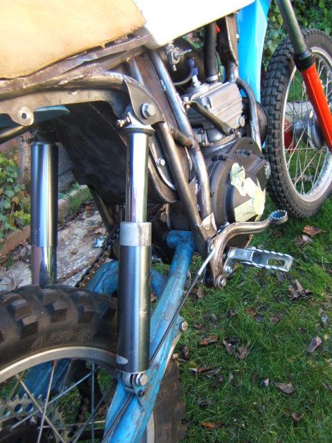 "Bultaco Pursang 125 ""Parabellum"" 209t4xd"