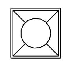 Símbolos para LUMINARIAS 21eb8y