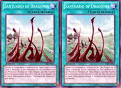 Deck dragón [Hieratico blanco] 23puew
