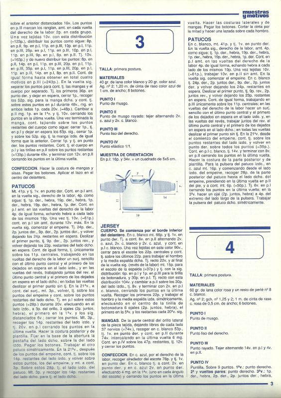 motivos -  CHAQUETA BEBE SISAS DE HOJAS DE LA  REVISTA MUESTRAS Y MOTIVOS Nº 21 24azwb7