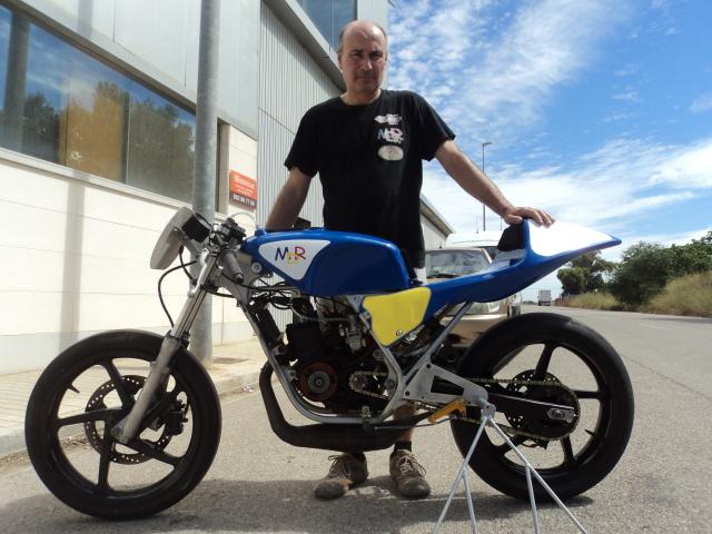 Proyecto Honda NSR 75 para circuito 24cth09