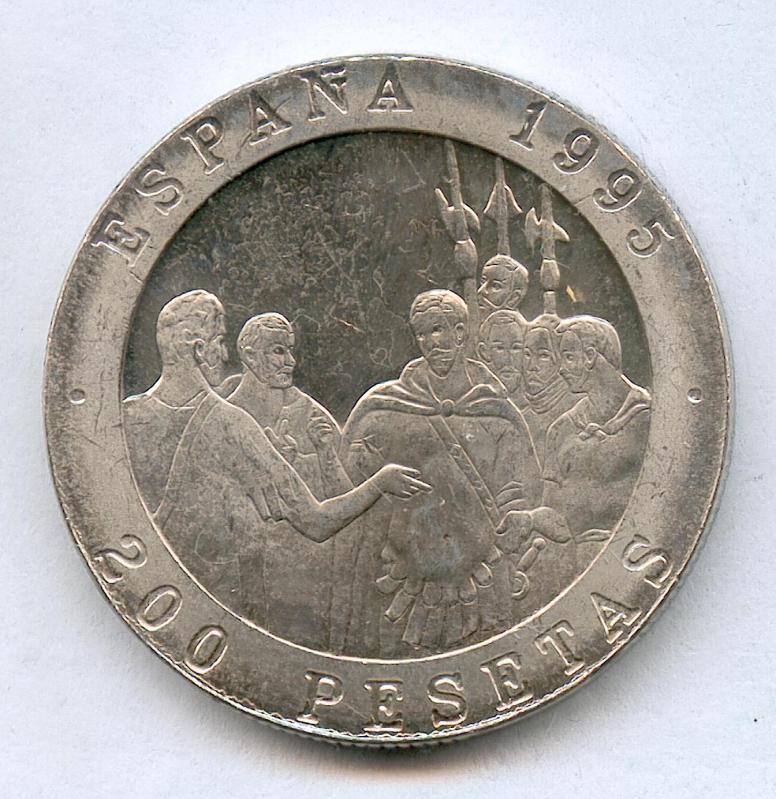200 Ptas 1995 PROOF 25tatlg