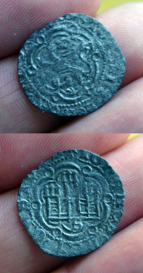 Blanca de Juan II (1406-1454) de Sevilla 2817tlj