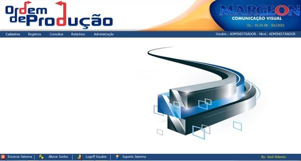 Controle de Produção para Empresa de Comunicação Visual. 29aw5cz