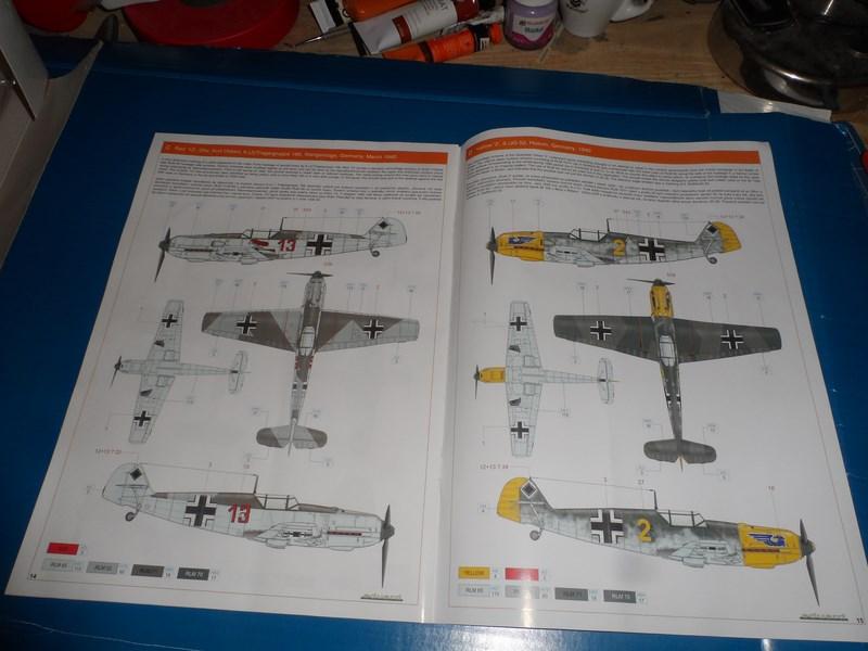 Me Bf 109E-1 Eduard Profipack 1/32ème 29p460i