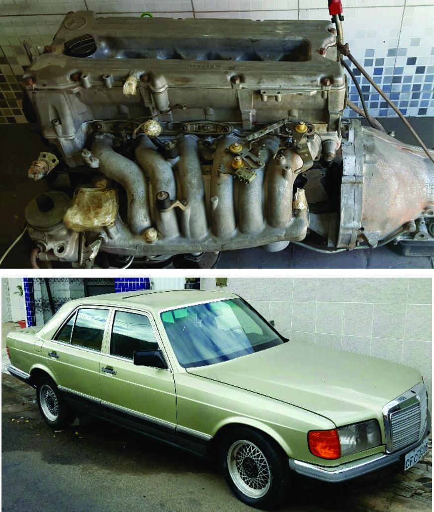 (COMPRO): Dosificador de combustível - W126 280S 1985 29x68f9