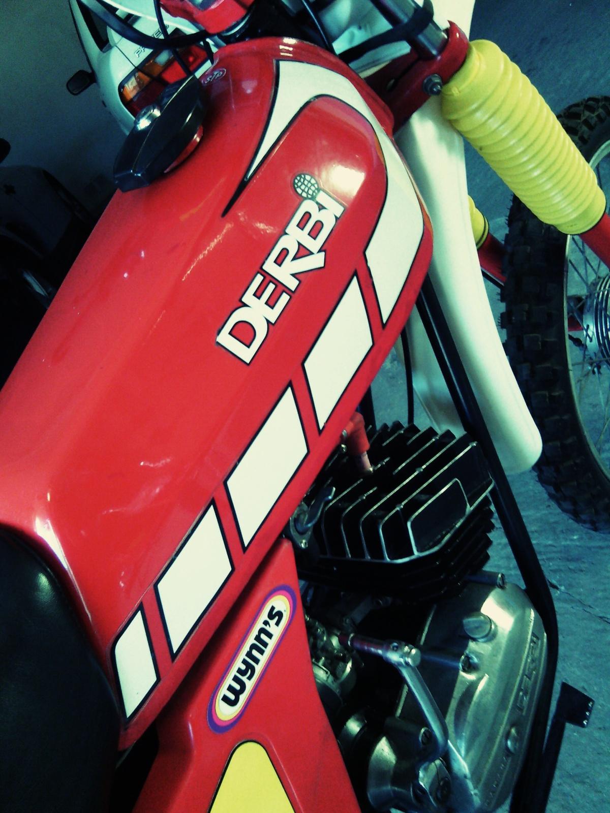 Restauración Derbi Diablo Super 29z4e3m