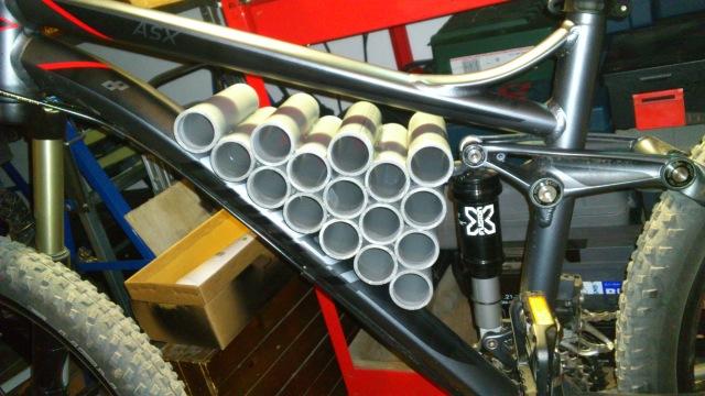 "Proyecto ""JALBIKE"":  MTB doble suspensión 27.5 con motor pedalier 29z9zk6"