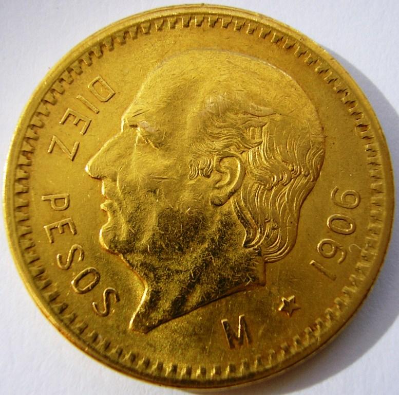 Méjico 10 pesos 1906 2cza7sy
