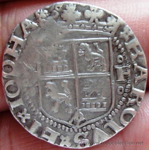 1 real (1539). Juana y Carlos. Méjico. 2eahri9