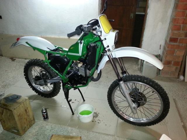 Mi nueva adquisición Rieju MR80 Verde 2ekltmd