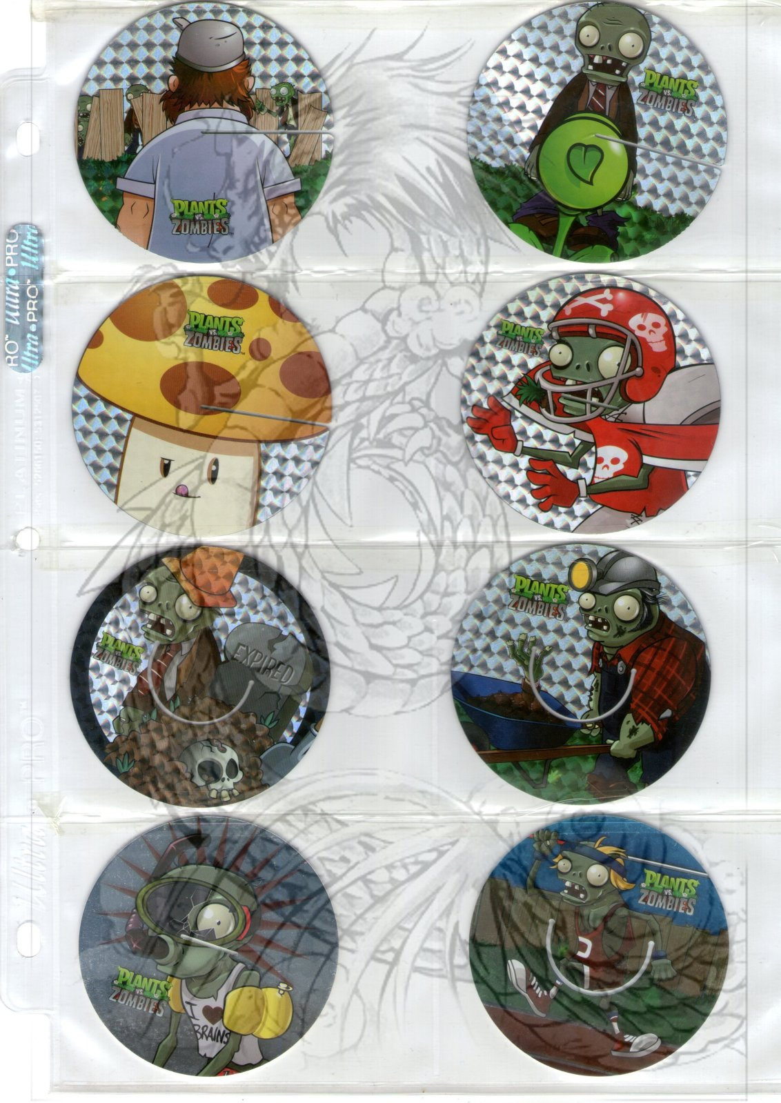Tazos Plantas Vs Zombies de SABRITAS 2gt3zhy
