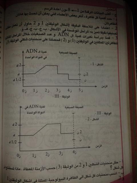 تمارين الفصل الثاني - علوم تجريبية - 2hd8ncg