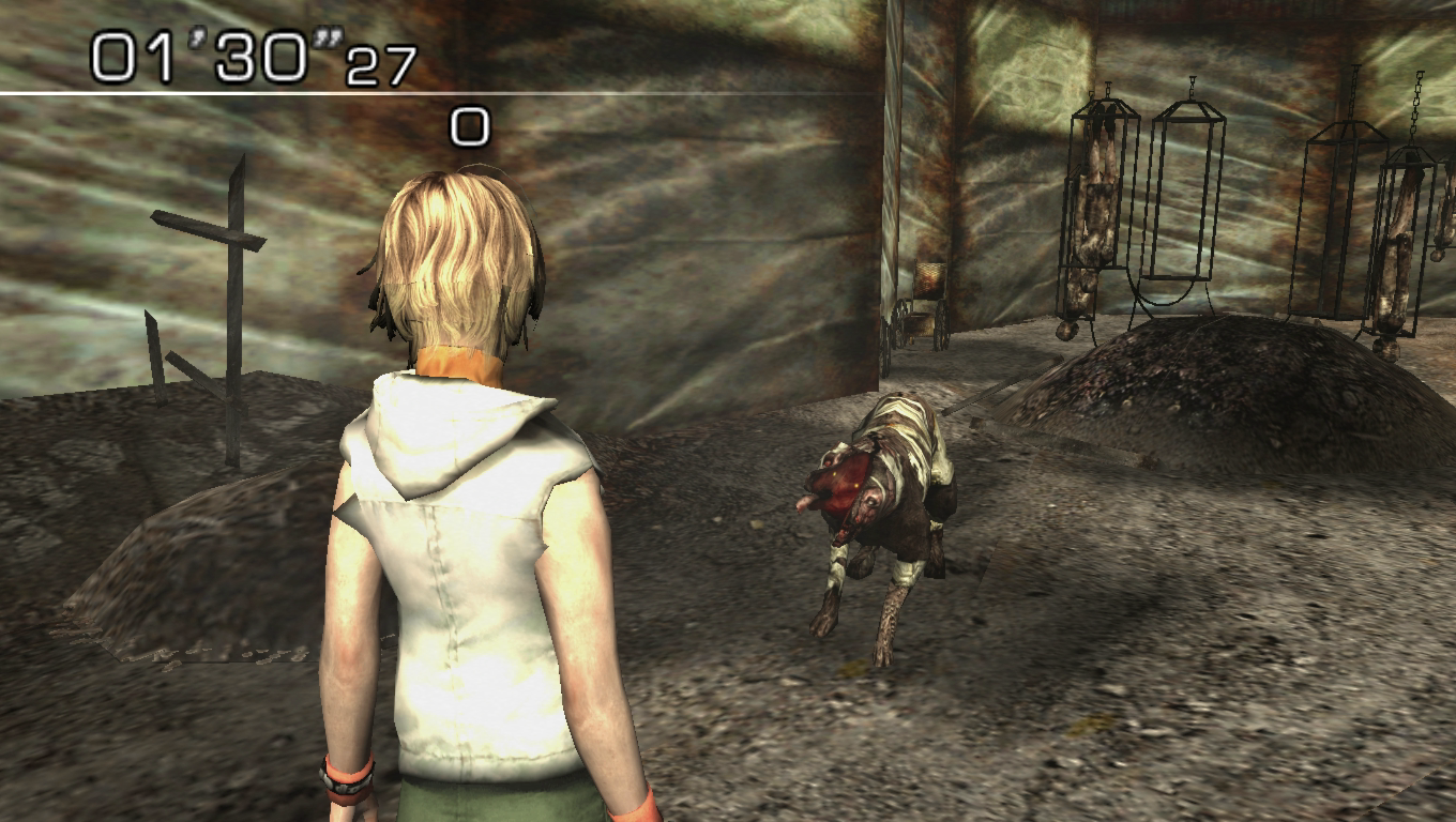 Double Head Dog - Silent Hill 3 - por Colmillos 2i7a3p3