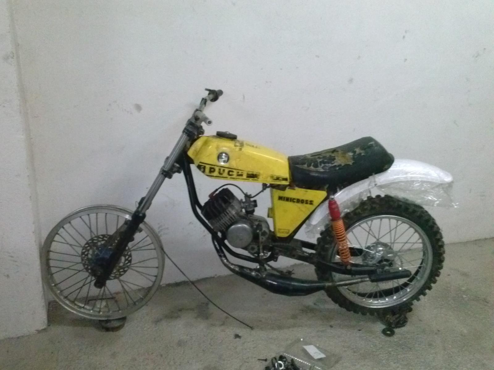 Puch Minicross Super con preparacion Cobra 2j5gxsx