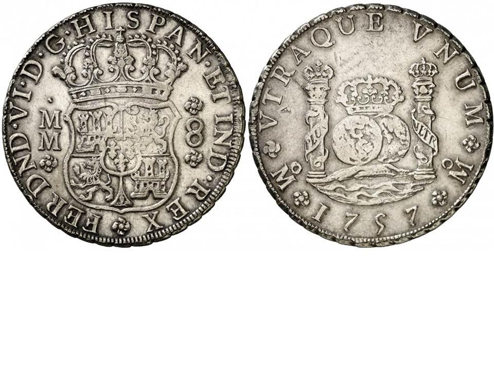 8 REALES CARLOS III -1771 - MÉXICO 2m0nl3