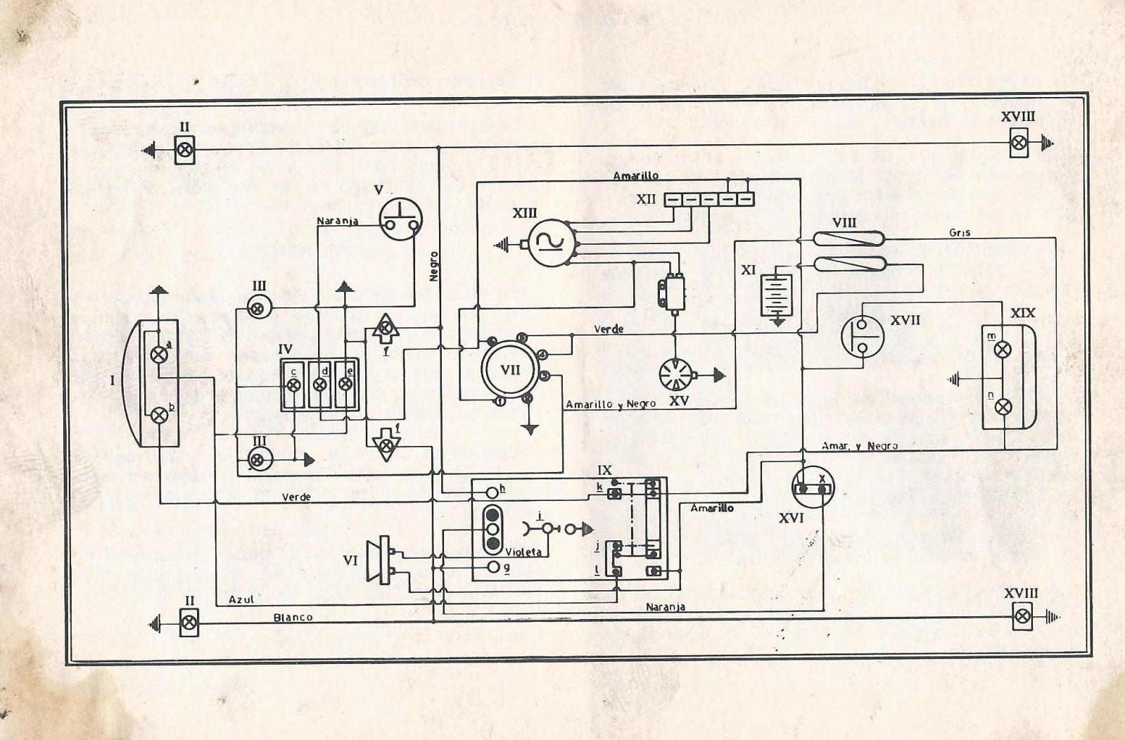 Manual  Despiece  Circuito Electrico Zanella Nt 200