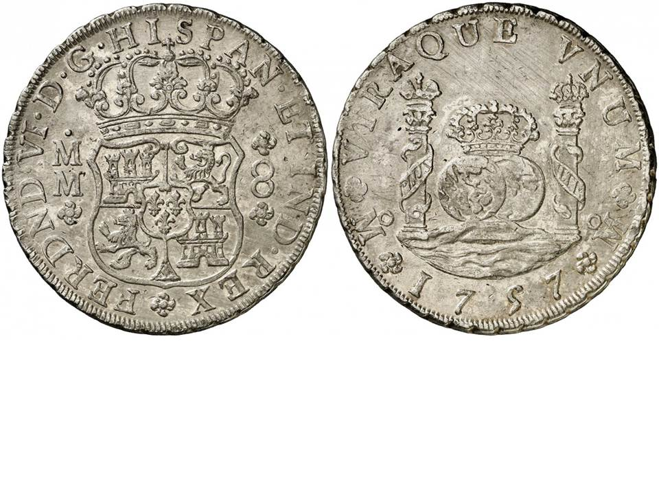 8 REALES CARLOS III -1771 - MÉXICO 2n00t9y