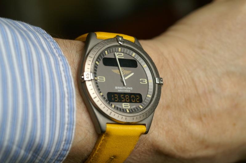Breitling - Ma machine à remonter le temps : Breitling Aerospace 2pplcn7
