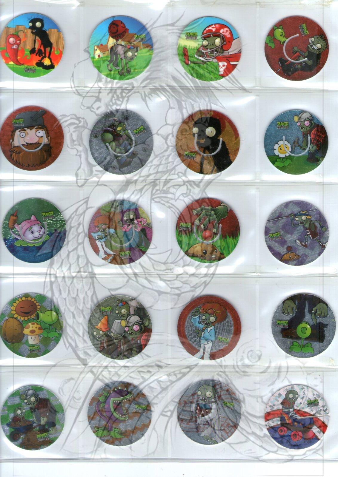 Tazos Plantas Vs Zombies de SABRITAS 2q15348