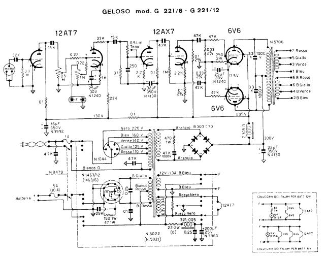 6 V 6 - Tetrodo di potenza 2q2h9fs
