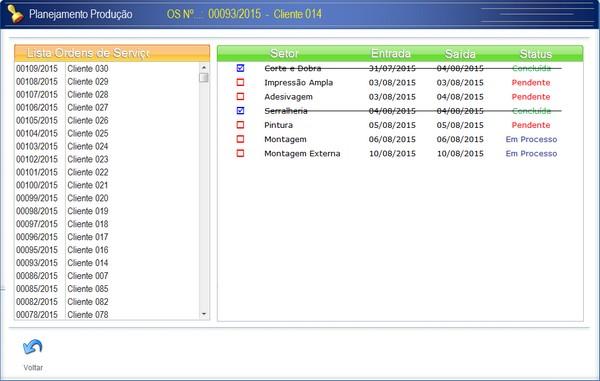 Controle de Produção para Empresa de Comunicação Visual. 2r462bl