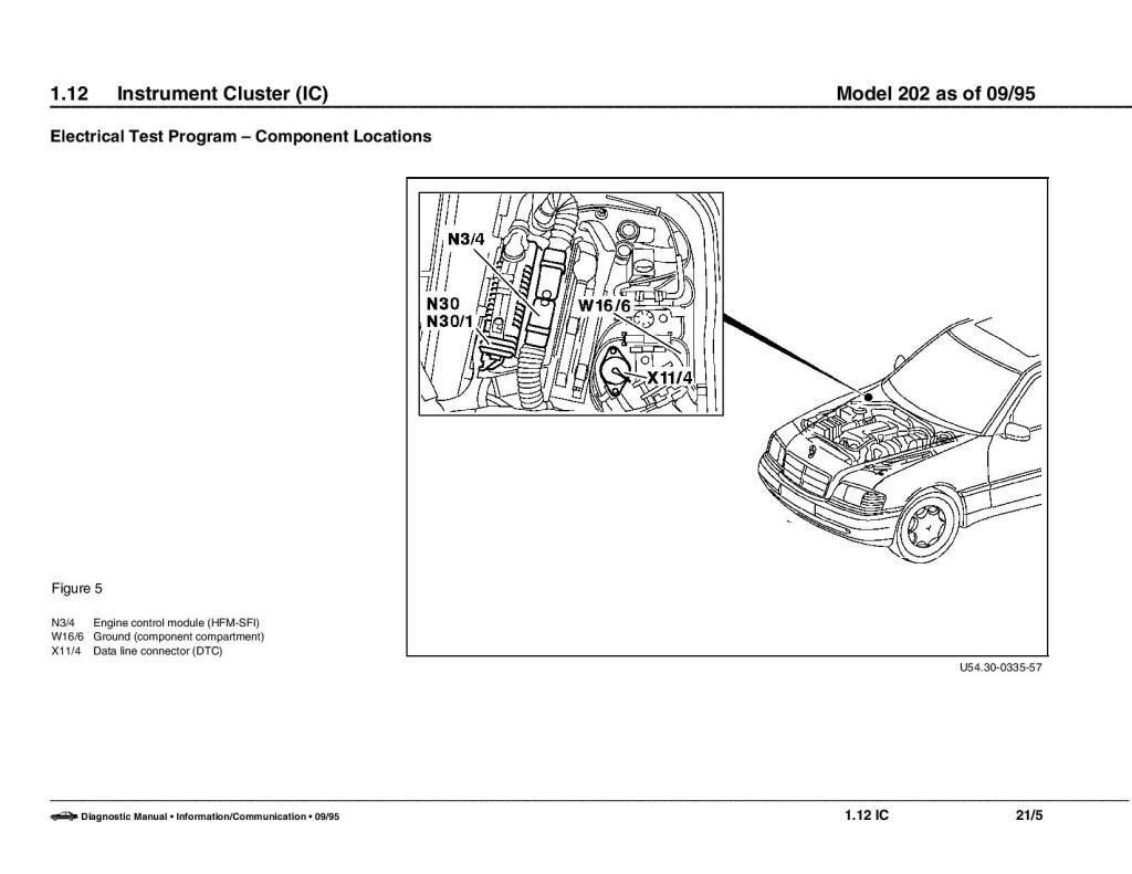 Esquema elétrico Mercedes Classe C W202 - 93 a 99 2rxhflt