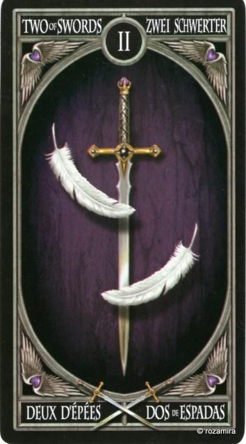 Готическое Таро Анны Стокс /Anne Stokes Gothic Tarot   (скан карт) 2rz2uzc