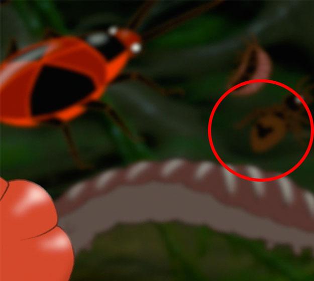 Cabezas de Mickey Mouse en El Rey León 2ue0msl