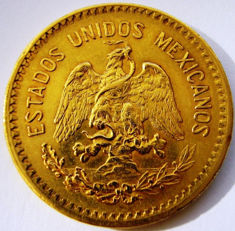 Méjico 10 pesos 1906 2ueia1l