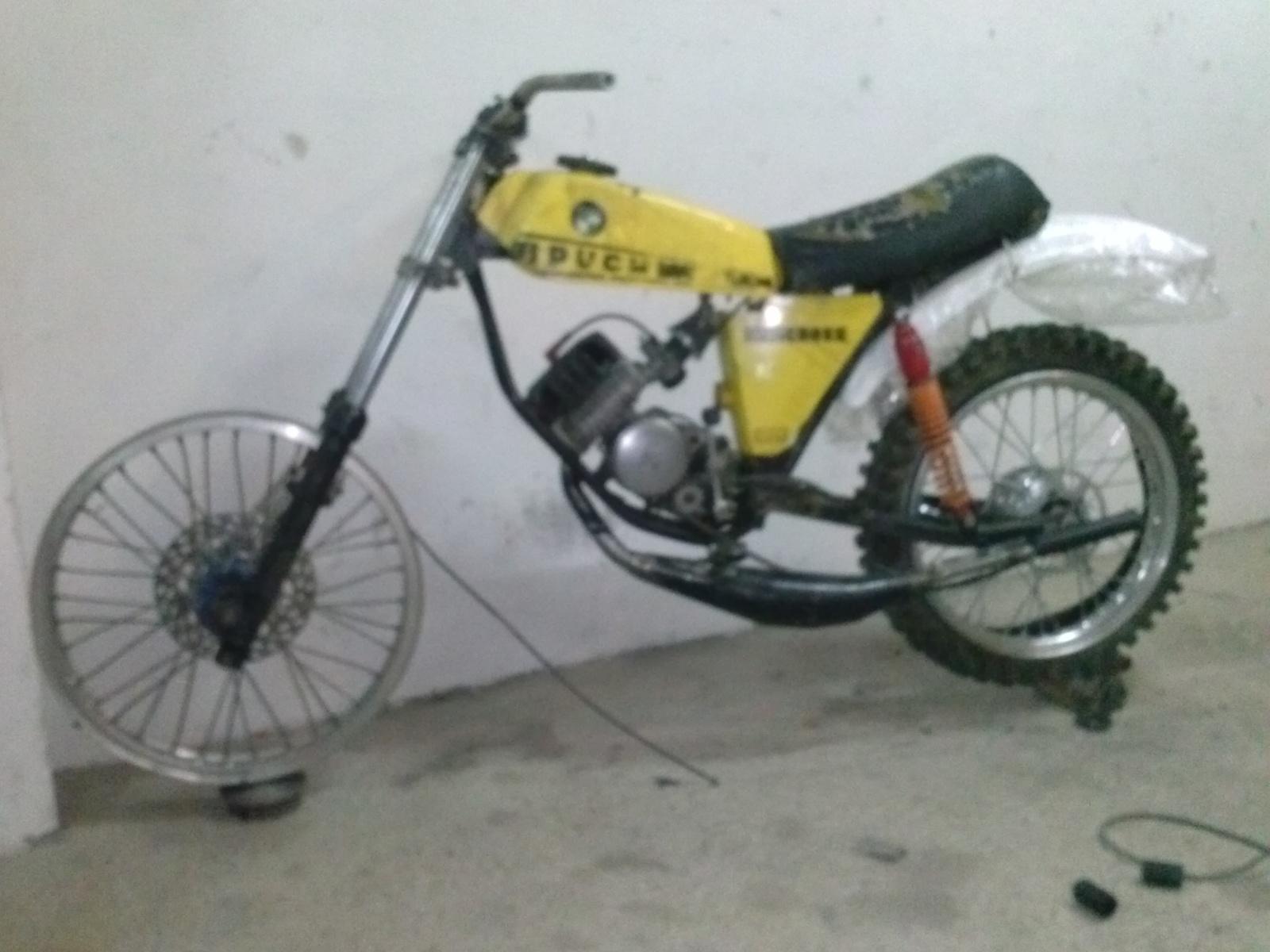 Puch Minicross Super con preparacion Cobra 2ufehsh