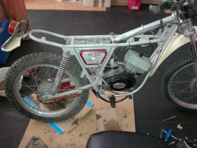 Proceso de restauración de Rieju TT 505 2uivkgp