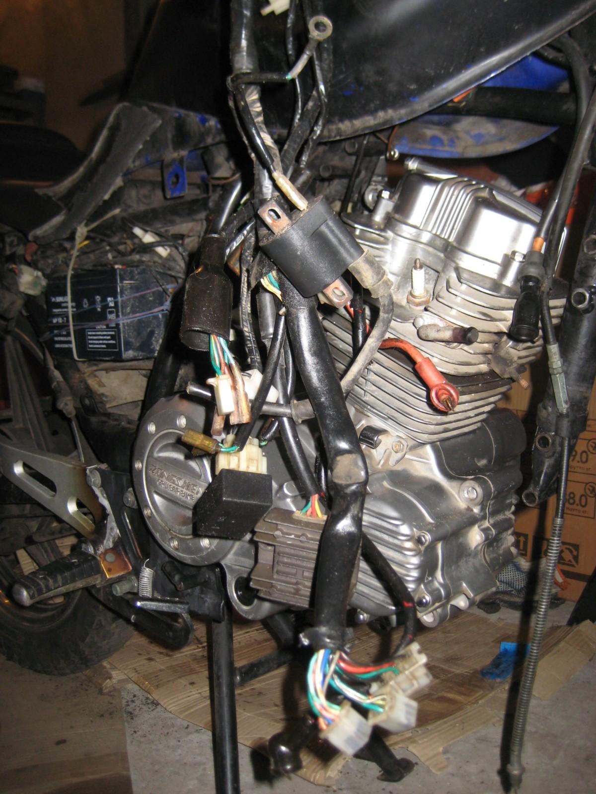 Продам двигатель с мотоцикла Zongshen ZS200GS (ZS167FML) 200куб 2usv2nt