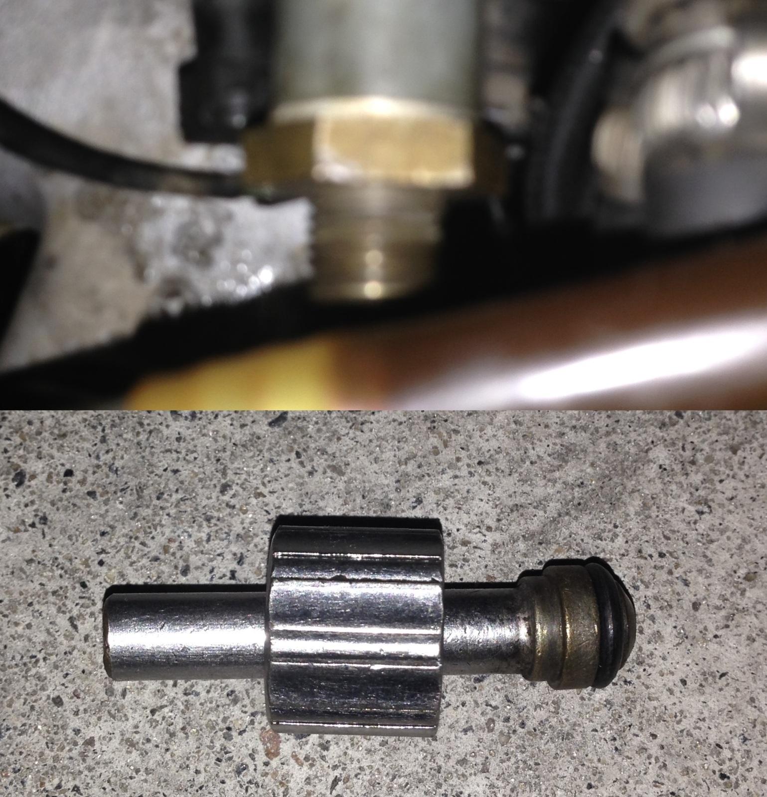 Substituição da válvula de retorno de combustível do carburador Solex/Pierburg 4A1 2v1ov48