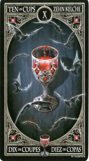 Готическое Таро Анны Стокс /Anne Stokes Gothic Tarot   (скан карт) 2vjecjt