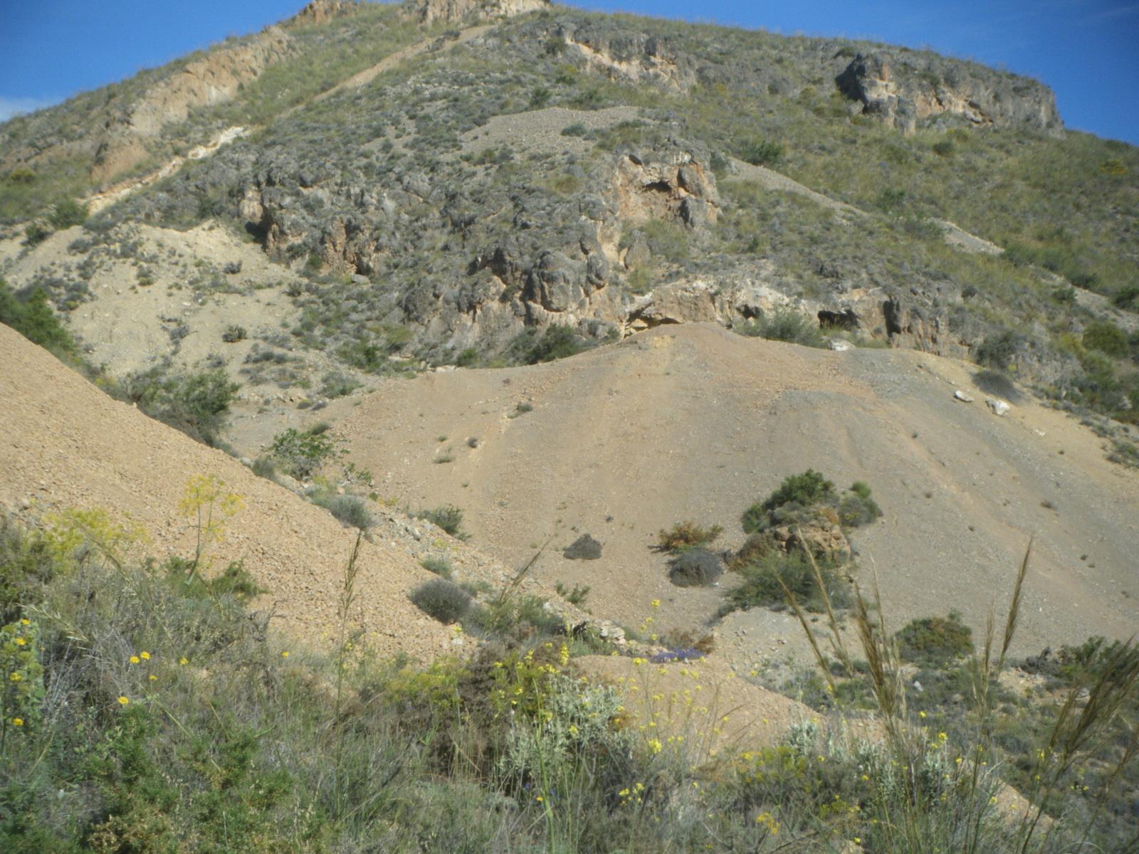 Minas Barranco El Pollo, Huercal de Almeria, Almeria, Andalucia, España 2wbz67c