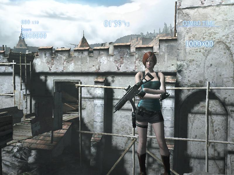 Jill Valetnine RE3 cosplay sobre Ada EX3 2yo4hw5