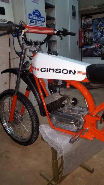 Gimson Enduro '87 2ª Serie - Restauración 2yphoxc