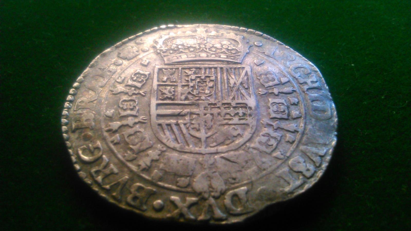 1 Patagón. Felipe IV 1654 Amberes. Dedicada a Lanzarote 2z5ueco