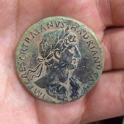 Sestercio de Adriano. PONT MAX TR POT COS III / LIBERTAS RESTITVTA. Cca Roma. 301zons