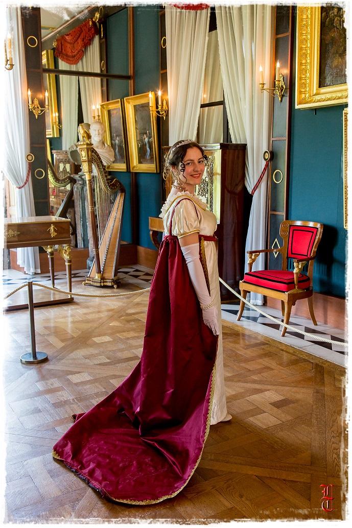 Francia - Castillo de la Malmaison (cerca de París) salida en traje primer imperio 10/05/2015 307ydm1