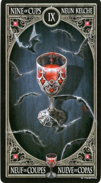 Готическое Таро Анны Стокс /Anne Stokes Gothic Tarot   (скан карт) 33jntj5