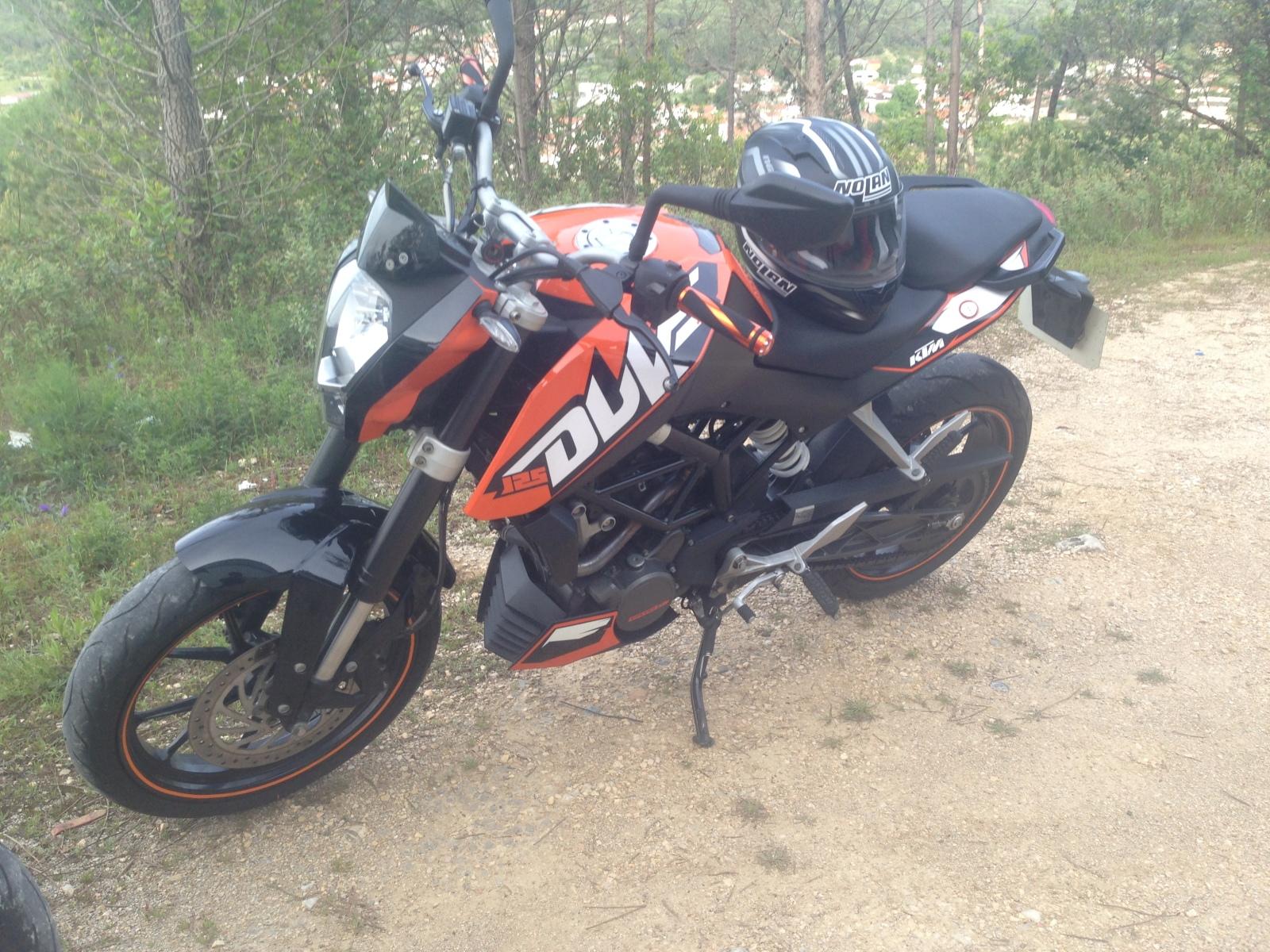 KTM Duke 125 Coimbra 33o70wx